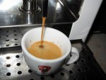 lamborghini espresso italiano podos kávé csapolás