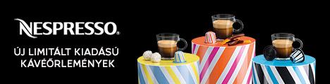 Nespresso limitált kiadású kávékapszulák