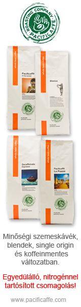 Kávék Pacificaffe