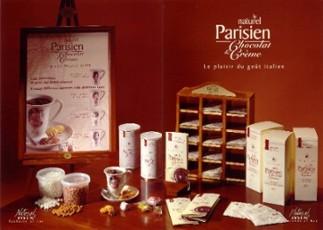 Parisien forró csokoládék