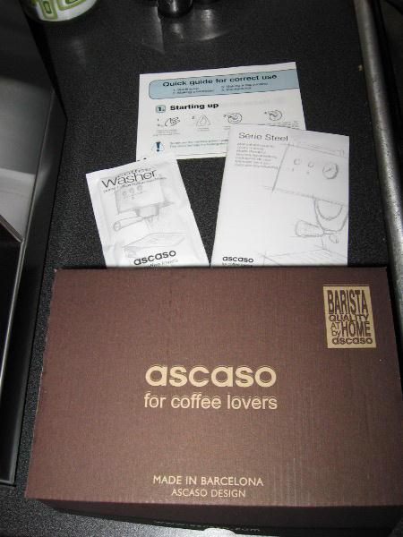 ascaso steel duo prof vízkőoldó