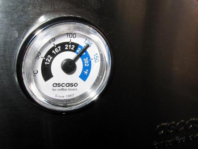 ascaso steel duo prof hőmérő