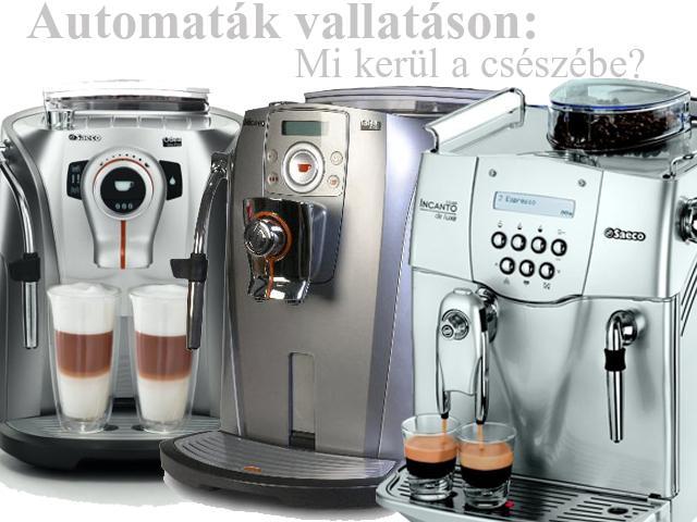 automata kávégépek tesztje