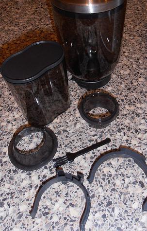 graef CM 90 kávédaráló bemutató kiegészítők