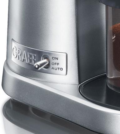 graef CM 90 kávédaráló bemutató oldalkapcsoló