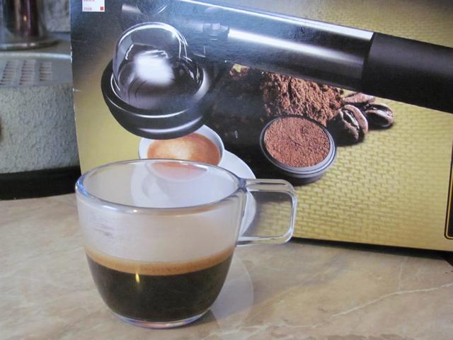 handpresso domepod bemutató eszpresszó