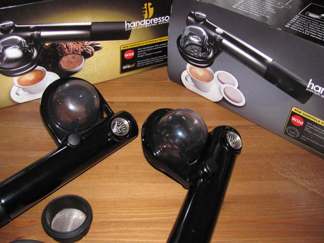 handpresso domepod bemutató előről egyforma
