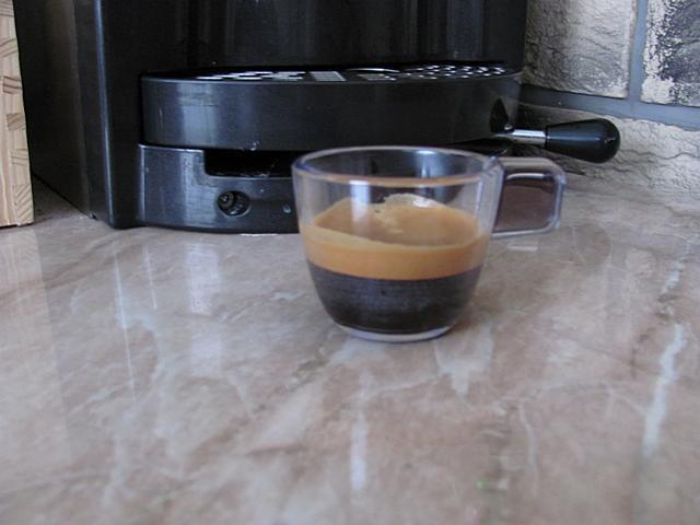 rdl cappuccino podos gép csésze