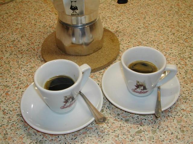bialetti brikka kávéfőző végeredmény