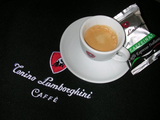 lamborghini opera kávékapszulás gép eszpreszó