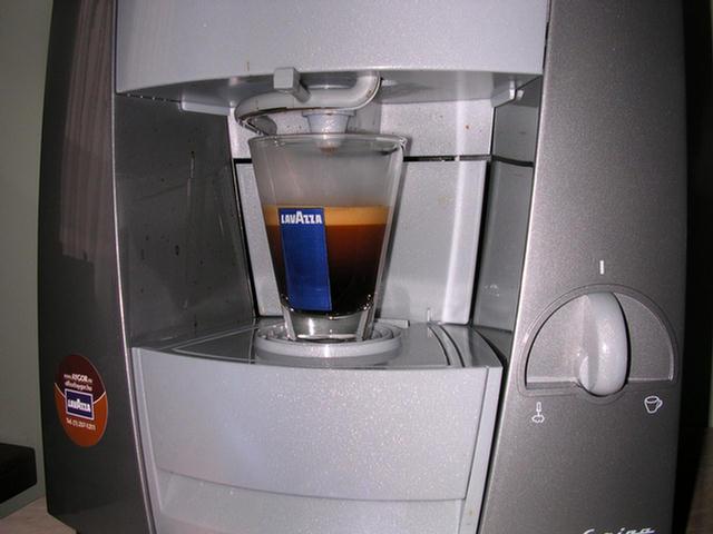 lavazza blue kávékapszula krém szétválás után