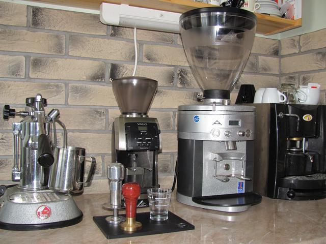 mahlkönig k30 kávédaráló bemutató kávéspult