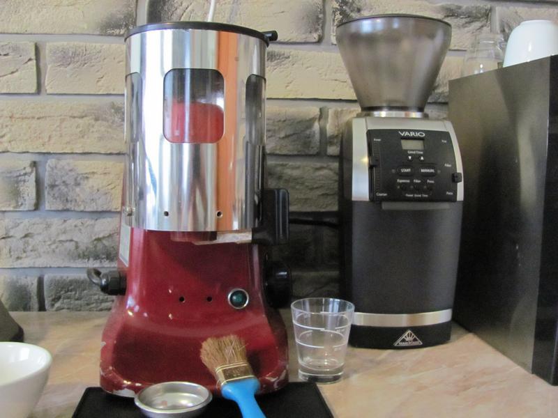 mahlkonig vario kávédaráló teszt méret