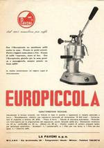 la pavoni europiccola régen