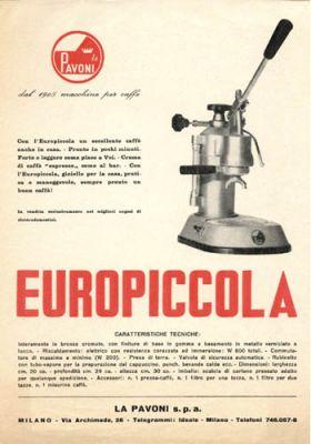 la pavoni europiccola