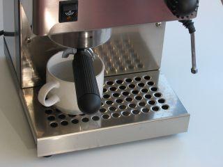rancilio silvia kávéfőző felmelegítése