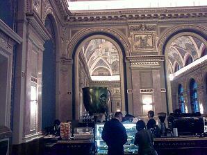 BookCafe - Budapest, Andrássy út kávézóteszt belső