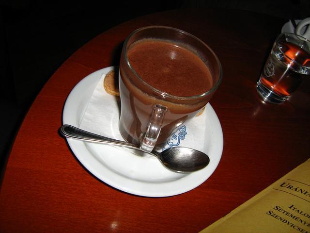 uránia kávéház forrócsoki