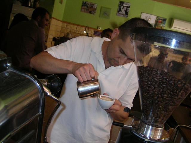 gramm prix latte art verseny