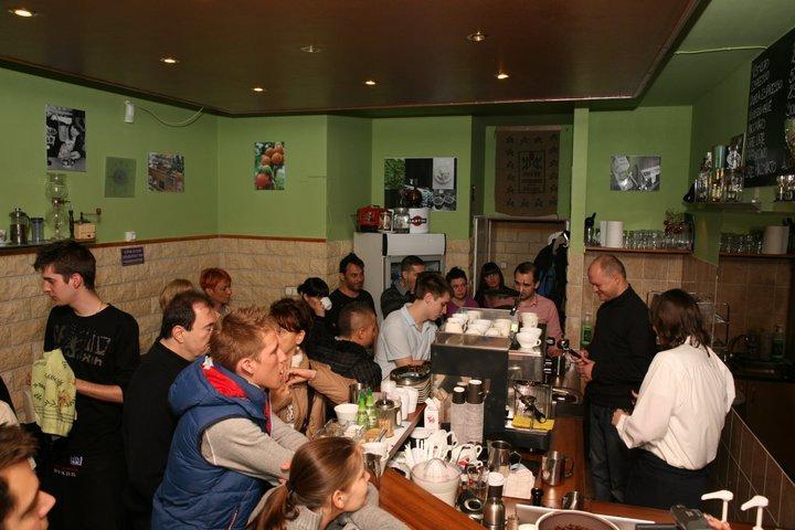 gramm prix latte art verseny közönség
