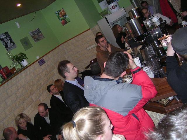 8gramm amatőr latte art verseny közönség