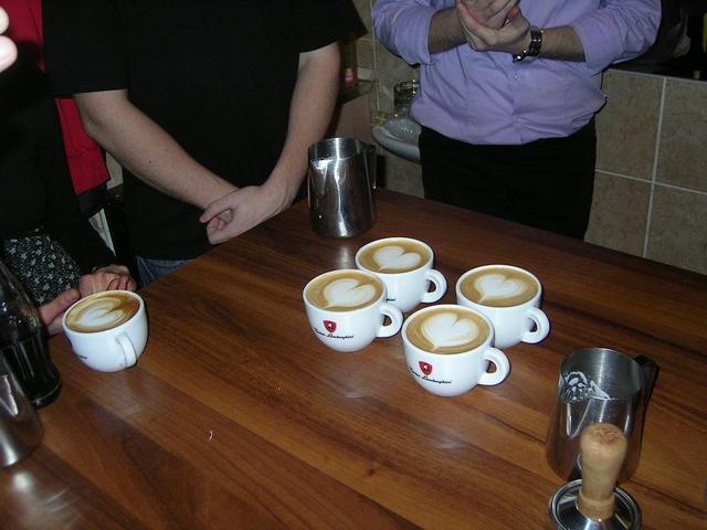 8gramm amatőr latte art verseny győztes minták