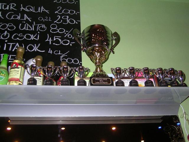 8gramm amatőr latte art verseny kupa