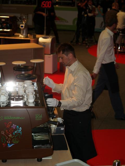 bogota world barista championship 2011 kávékészítés