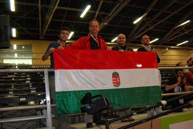 bogota world barista championship 2011 Magyar zászló