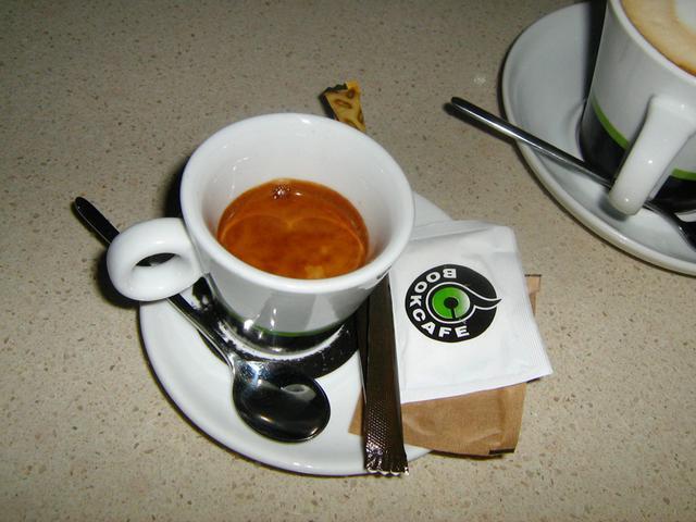 bookcafe kecskemét kávézóteszt eszpresszó