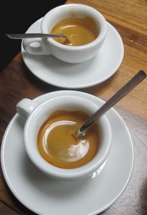 doubleshot eszpresszó cupping