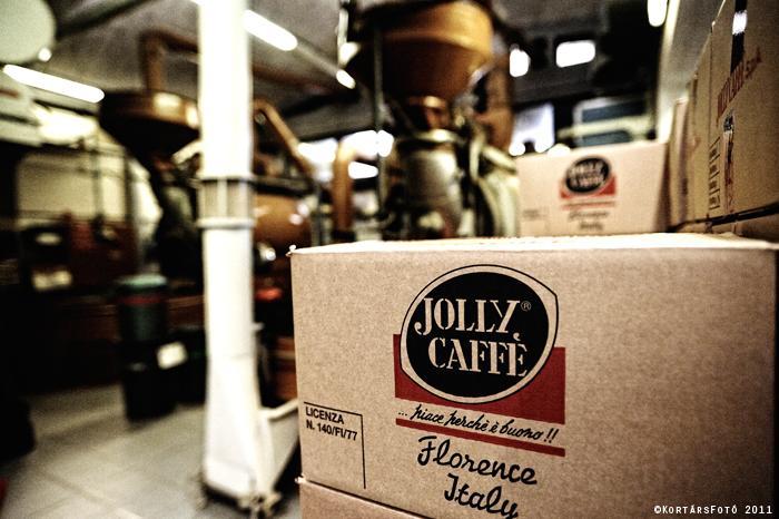 jolly caffé kávépörkölő doboz
