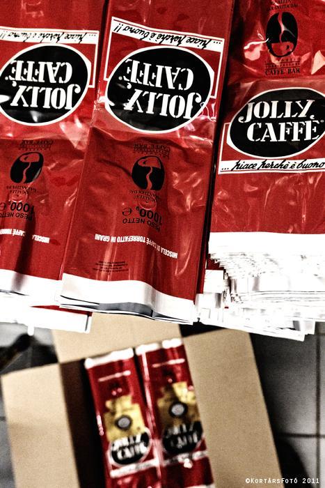 jolly caffé kávépörkölő kávé