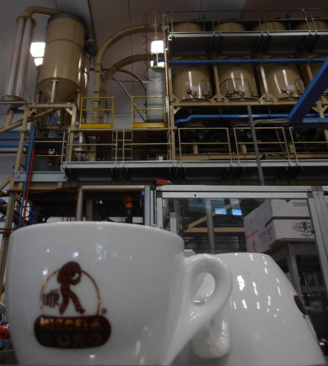 miscela d'oro kávépörkölő csésze