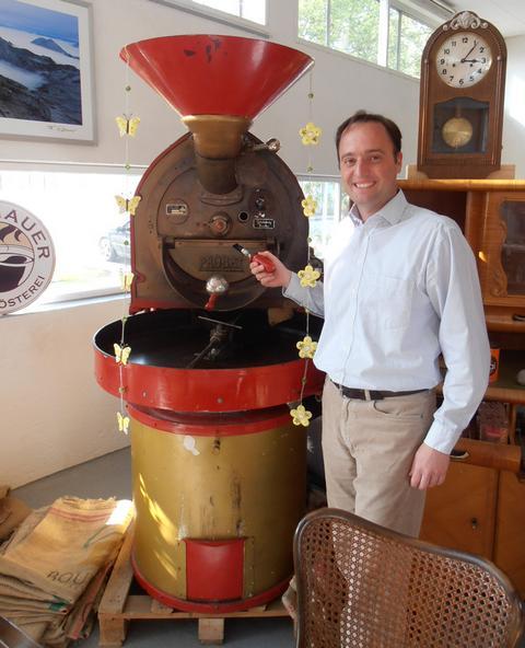 kávépörkölő murnau probat