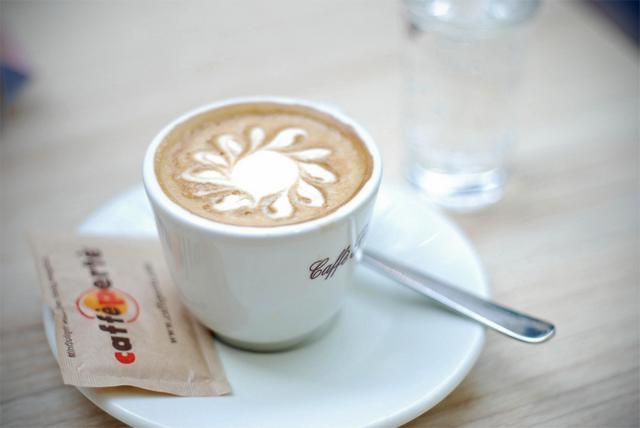 negresco kávézó teszt kapucsínó