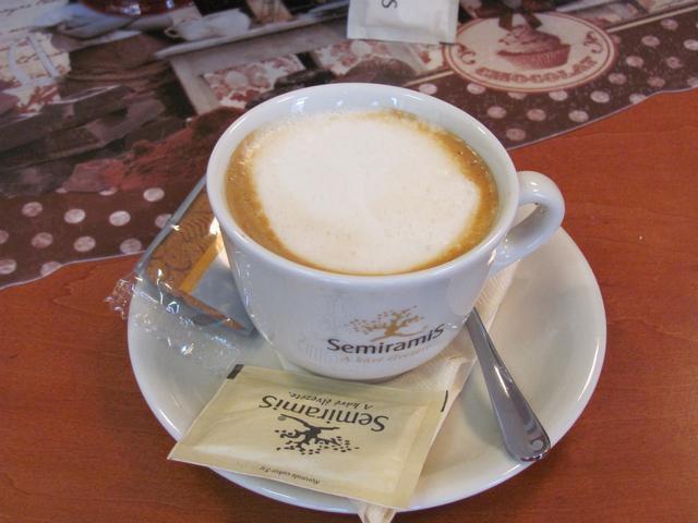 nosztalgia kávézó kapucsínó