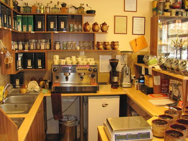 nosztalgia kávézó pult