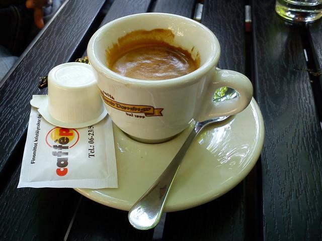 vincent bar & pastry kávézó teszt eszpresszó