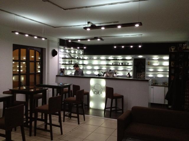 amatőr barista bajnokság helyszíne, a kávé háza