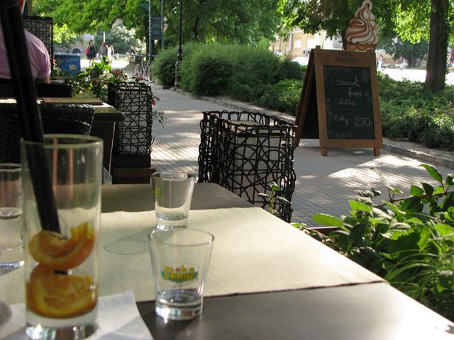 center café kecskemét terasz utcafront