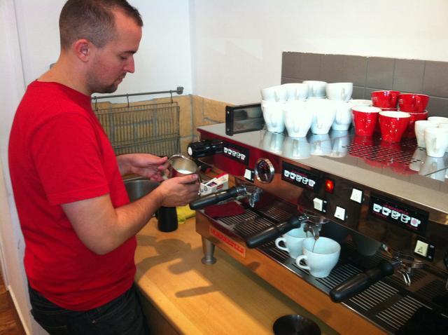 doggee barista oktatás molnár attilával gőzölés