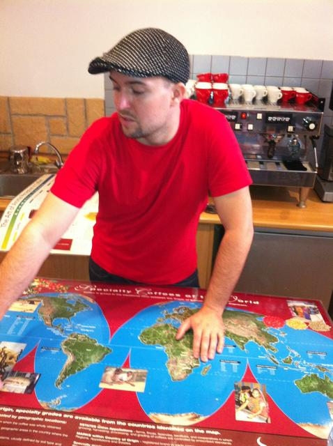 doggee barista oktatás molnár attilával térkép