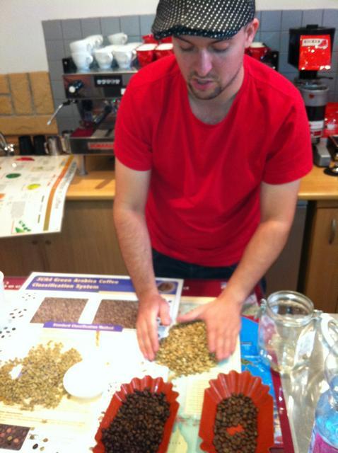 doggee barista oktatás molnár attilával kávéválogatás