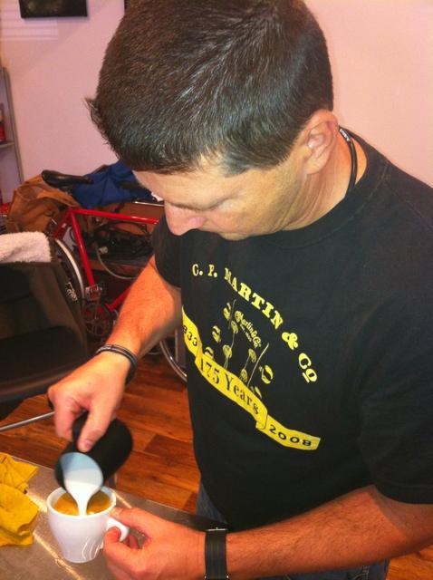 doggee barista oktatás molnár attilával gyakorlás
