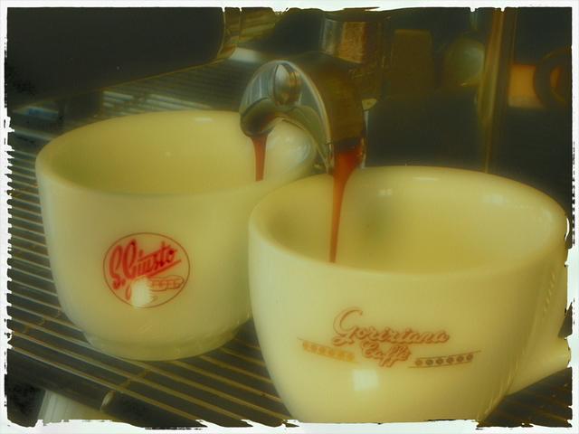 goriziana kávépörkölő kifolyás