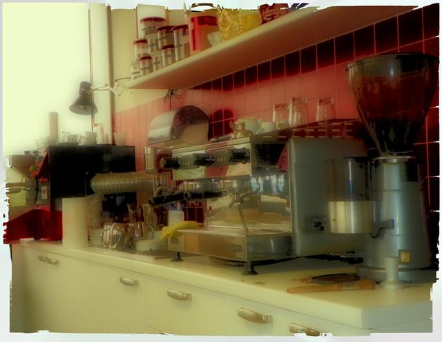 goriziana kávépörkölő kávégép és őrlő