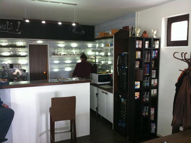 a kávé háza belső tér