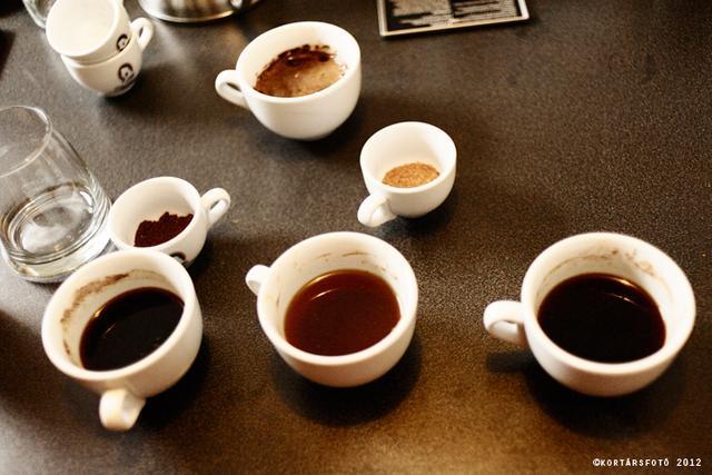 barista tréning tóth sándorral cupping