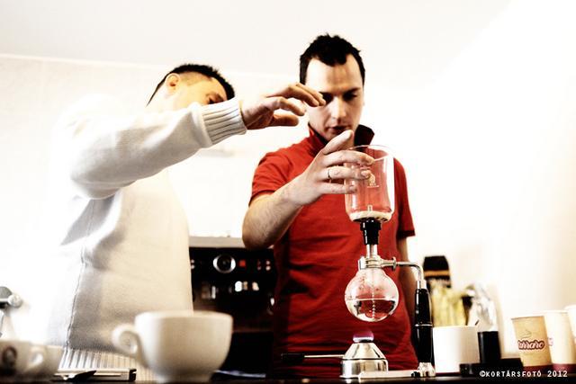 barista tréning tóth sándorral szifon